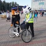 Runcis Rūdis un Bebrs Bruno sveiks velokrosa dalībniekus